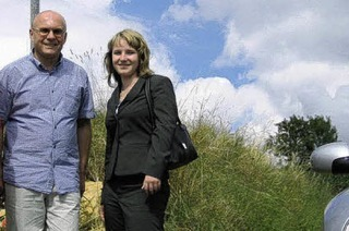 Weinkönigin Isabell Kindle auf Tour durchs Weinland