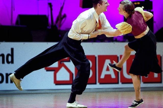 Tanzen, was die Füße hergeben