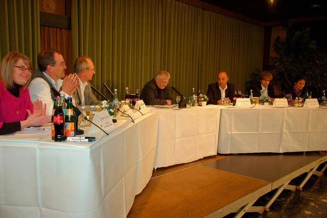 BZ-Podiumsdiskussion zum Thema Bad
