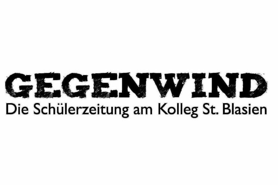 Gegenwind: Die Schülerzeitung aus St. Blasien - Badische Zeitung TICKET