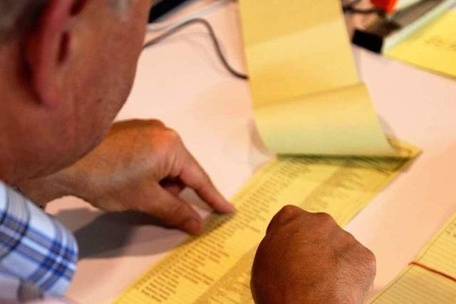 Kommunalwahl in Freiburg: Livebericht von der Auszählung