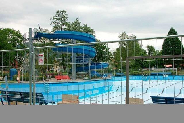 Naturbad: Keine Eröffnung vor 2011