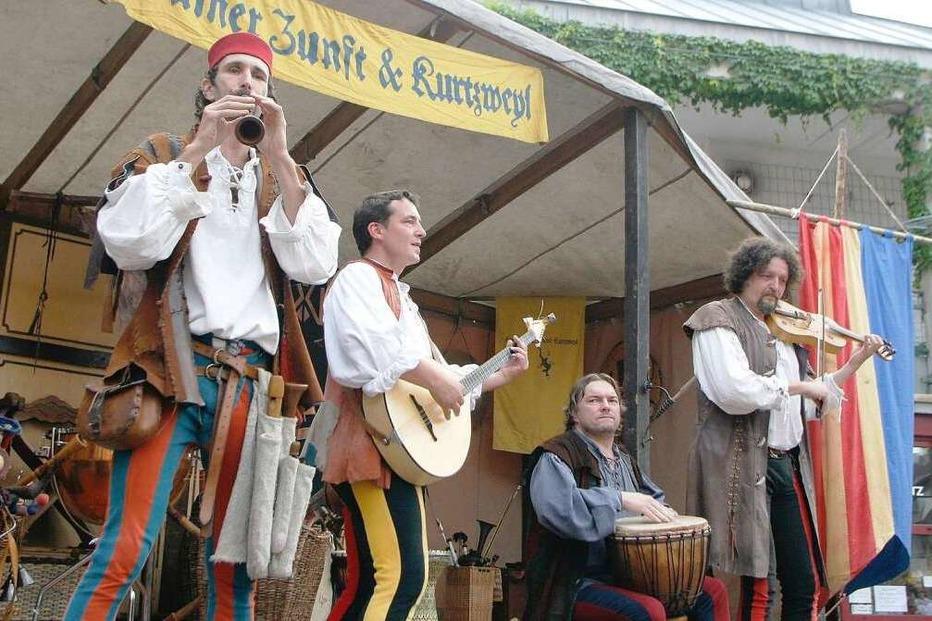 Mittelalterliches Stadtfest in Lahr