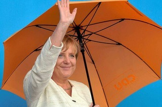 Merkel er�ffnet Wahlkampf – und bleibt vage