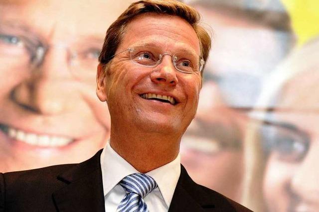FDP-Chef Guido Westerwelle will mitregieren