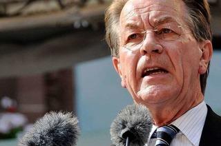 SPD-Chef Franz Müntefering hat Freiburg fest im Griff