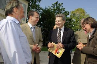 Oettinger h�lt Tunnel f�r machbar