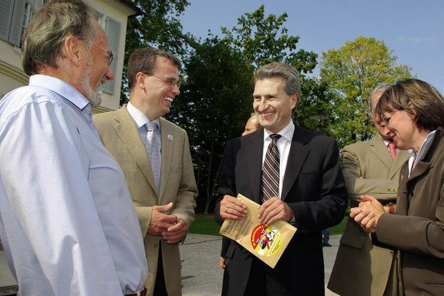 Oettinger hält Tunnel für machbar