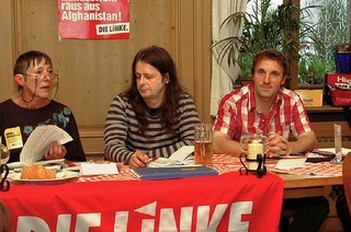 Mehr Solidarit�t wagen: der nette Linke von nebenan