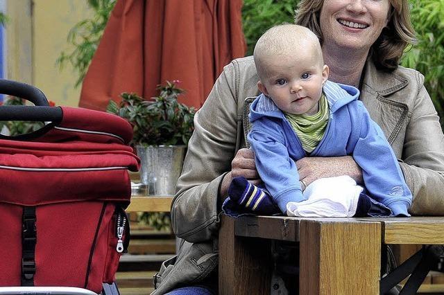 Mit dem Kinderwagen nach Berlin