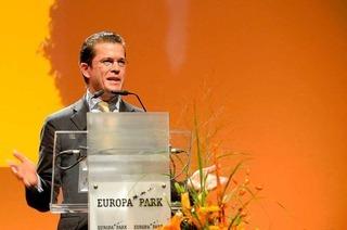 Guttenberg in Rust: Weißbier gegen Stimmband-Insolvenz