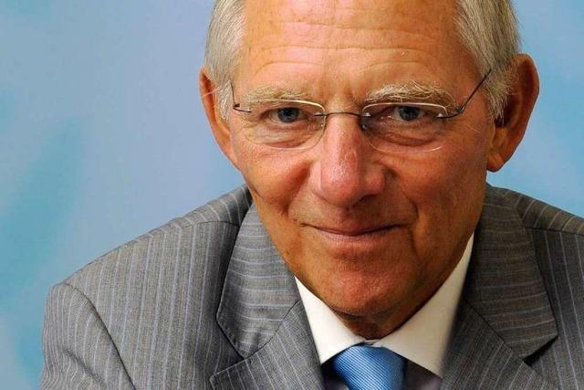 Offenburg: Schäuble und dann lange nichts