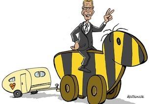20 Karikaturen zur Wahl