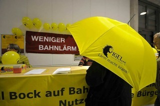 Rheintalstrecke: Proteststurm gegen Bahnlärm