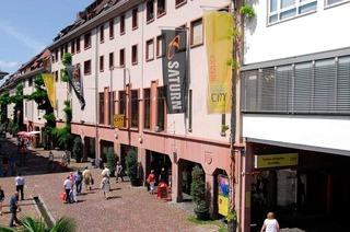 Einkaufen mitten in Freiburg