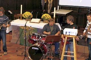 Flotte Songs im Gotteshaus