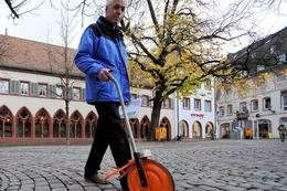 Fotos: Weihnachsmarkt Freiburg wird aufgebaut