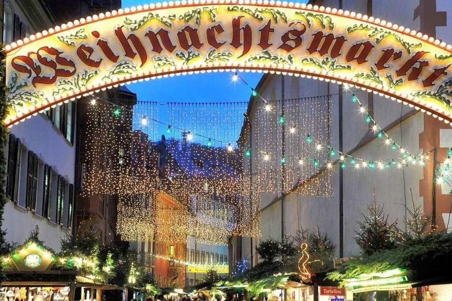 Fotos: Weihnachtsmarkt in Freiburg 2009