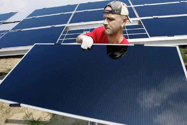 Die Solarbranche floriert in der Krise