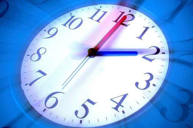 Minuten, Stunden und Sekunden