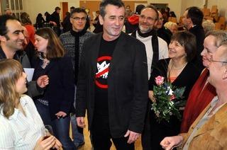 Günter Rausch tritt gegen Salomon und von Kirchbach an