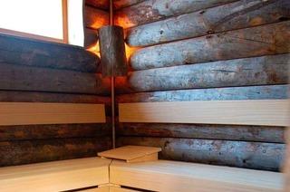 St. Blasien, Samstag: Neue Blockhaus-Sauna