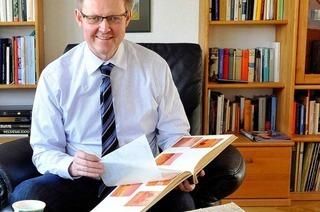 Ulrich von Kirchbach gewährt Einblicke ins Fotoalbum