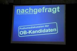 """Fotos: OB-Kandidaten bei """"Nachgefragt"""" am Rotteck"""