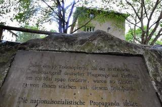 Als deutsche Flieger Freiburg bombardierten