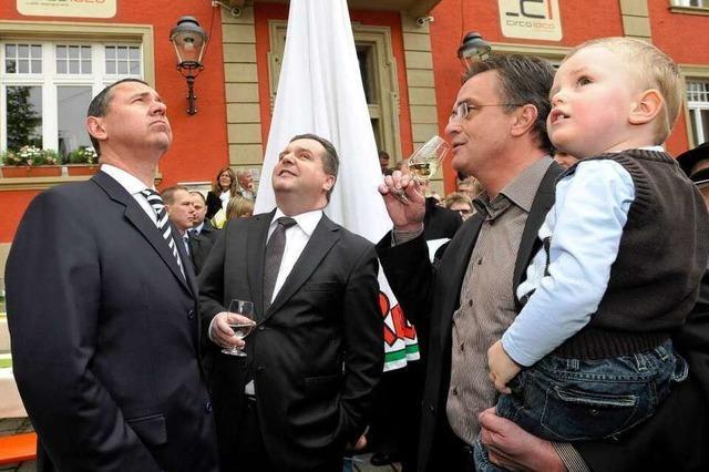 Ministerpräsident Mappus eröffnet die Heimattage offiziell