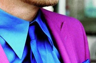 Disco-Anzug statt Sturmhaube