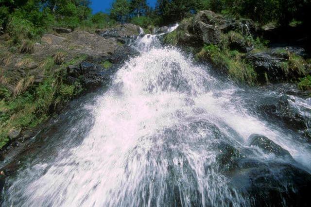 Wandertag rund um den Wasserfall