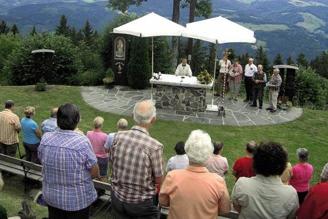 Begegnungen auf dem Wallfahrtsberg