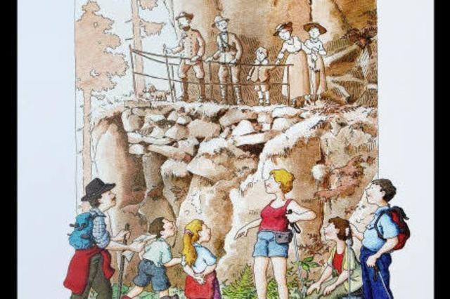 100 Jahre Felsenpfad: Die Elsässer ehren einen Deutschen