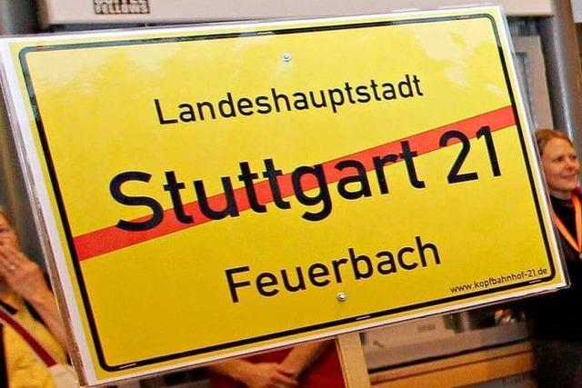 Land soll Stuttgart 21 mit Großauftrag erkauft haben