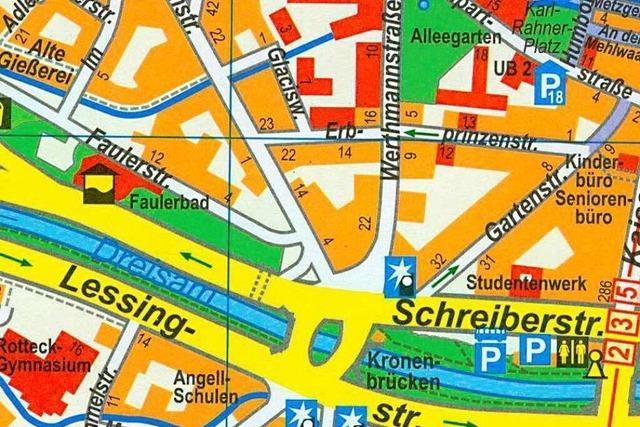 Interaktive Karte: 50 Freizeittipps für Freiburg