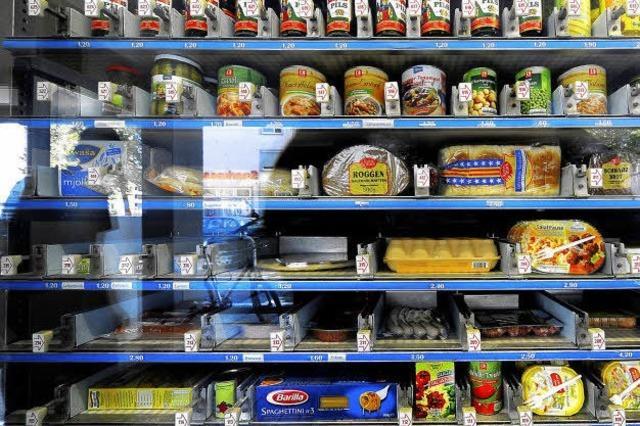 Automaten-Emma: Jederzeit Speis und Trank