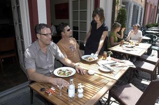 Lichtblick: Malerische Mahlzeiten im Winkel