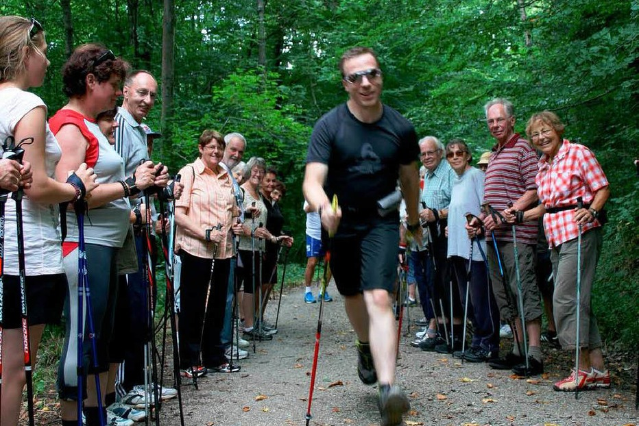 BZ-Ferienaktion: Nordic Walking in Emmendingen