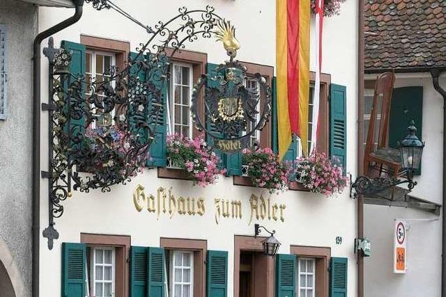 Weil am Rhein: Restaurant Adler