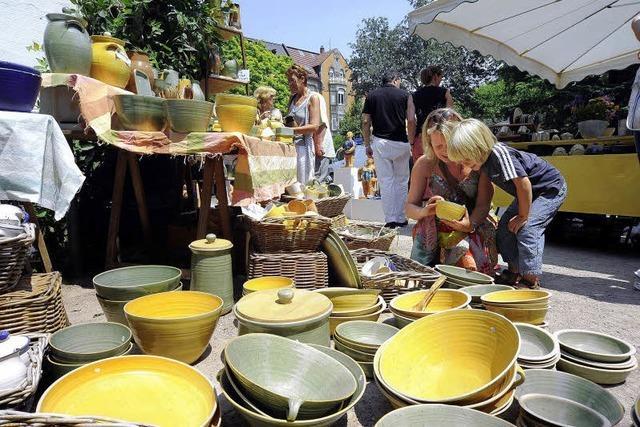 Töpfermarkt: Schönes aus Ton