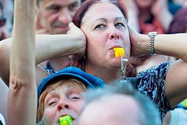 Stuttgart-21-Gegner wollen Protest bis Freiburg tragen