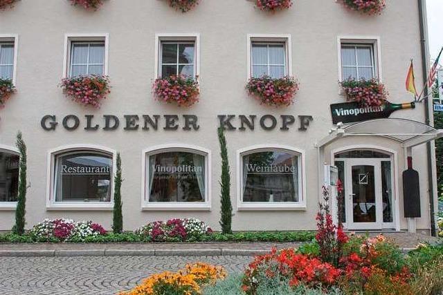 Bad Säckingen: Goldener Knopf
