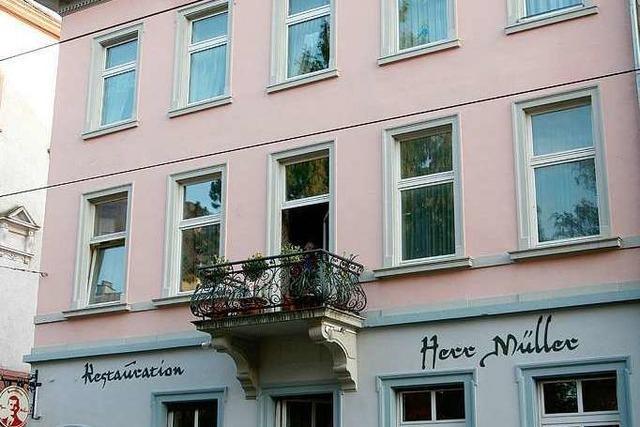 Freiburg: Restauration Herr Müller