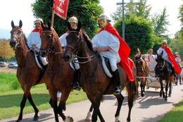 Fotos: Eröffnung des Markgräfler Römerwegs