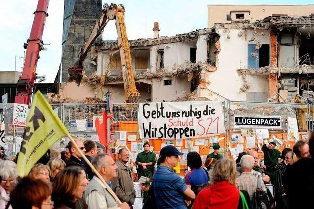 Harald B. Schäfer: Gegner von Stuttgart 21 wurden nicht einbezogen