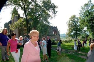 Burgruine Landeck – fast wie im Märchen