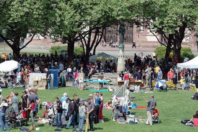 Flohmärkte: Handeln und wandeln
