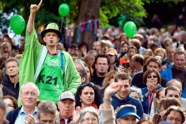 Stuttgart 21: Gegner sehen sich auf der Zielgeraden