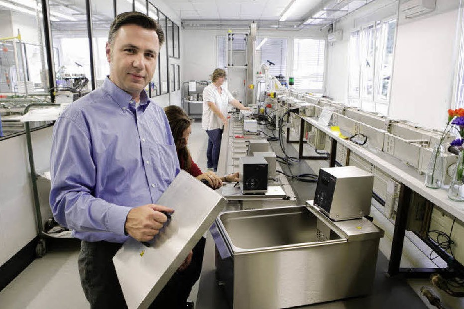 Modernes Kuchengerat Der Seelbacher Firma Julabo Sous Vide Garen